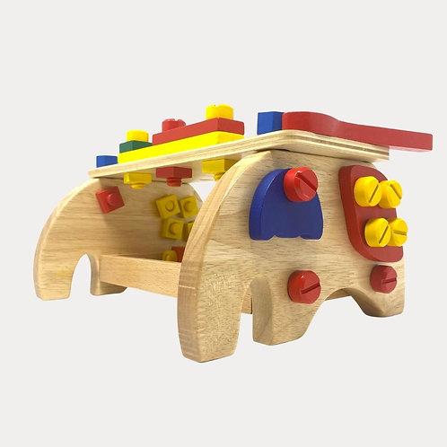 Legler Workbench Elephant Wooden Toy