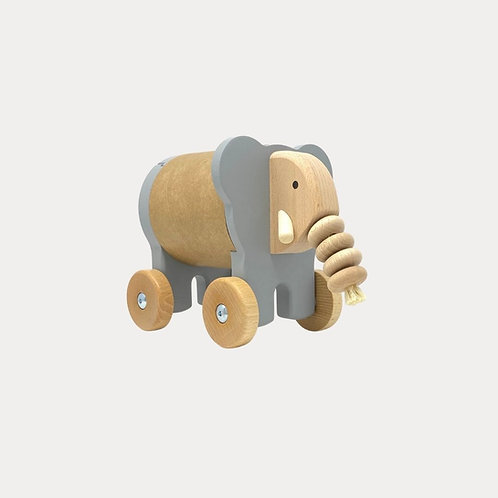 Bajo Elephant Safe Box for Push Along Toy Children
