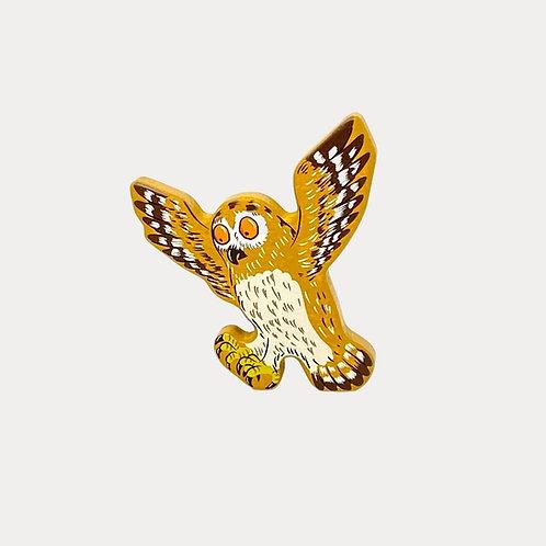 Bajo Gruffalo Official Owl Wooden Figure