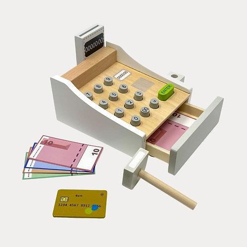 Cash Register Wooden Toy