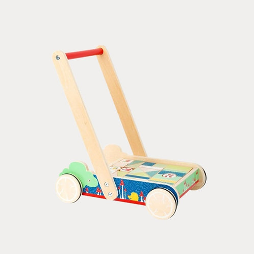 Wooden Baby Walker, first walker