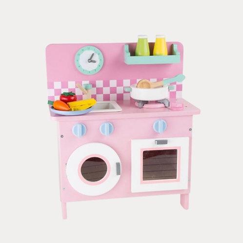 Childrens Pink Kitchen Small