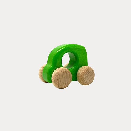 Bajo Wooden Car Green for Baby and Toddler