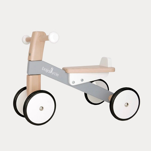 Bajo Bajocycle Ride-on grey. First ride on trike from 12 months plus