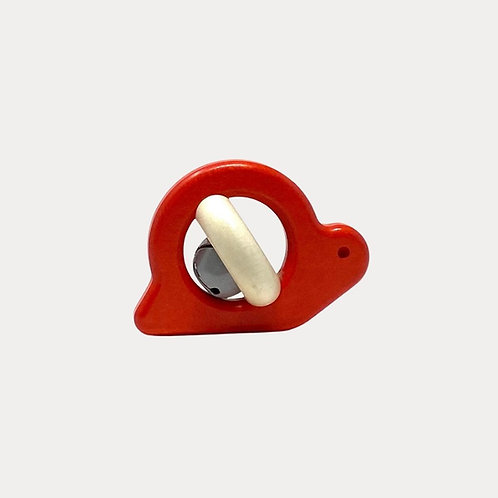 Bajo Snail Rattle Natural for Babies