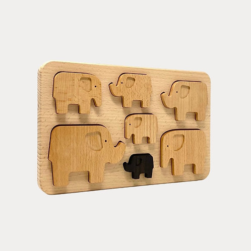 Bajo Elephant Puzzle for early years