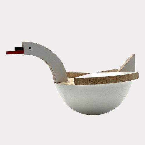 Wooden Toy Swan