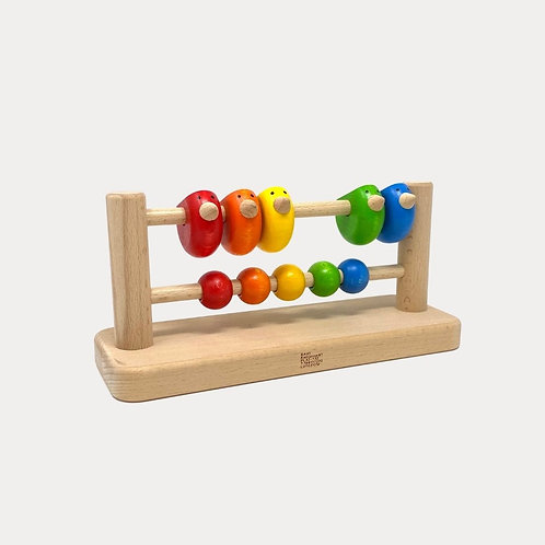 Bajo Wooden Sparrow Abacus, educational toys for early years