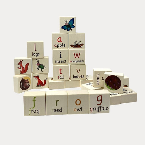 Bajo Gruffalo Alphabet Blocks Toy
