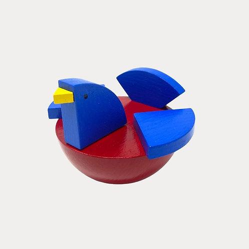 Wooden Toy Bird