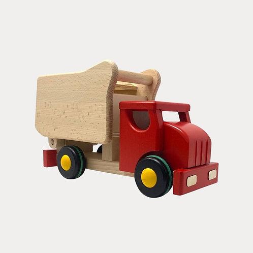 Wooden Toy Tipper Truck