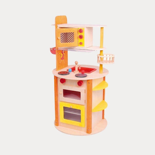 Childrens Wooden Play Kitchen All in One for 2 year olds