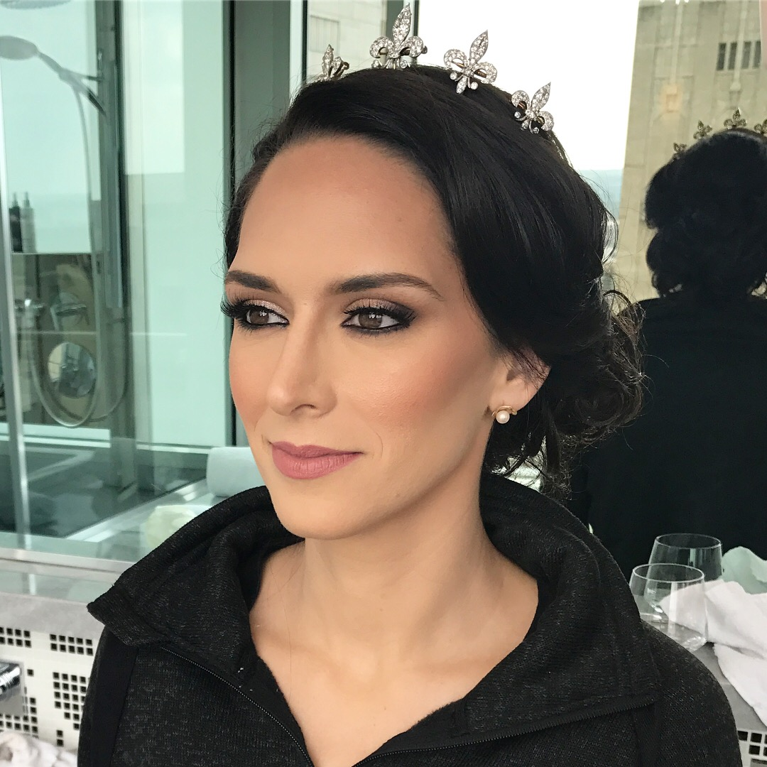 NATURAL BRIDAL LOOK