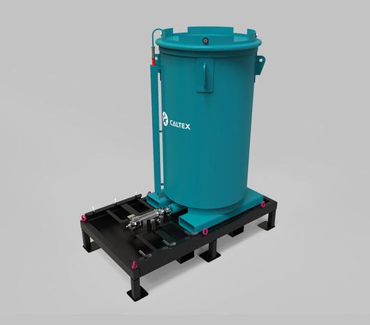 Rubix design grease bulk tank skid 020