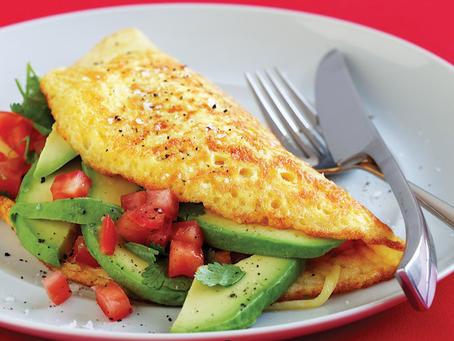 Tumeric Omelette