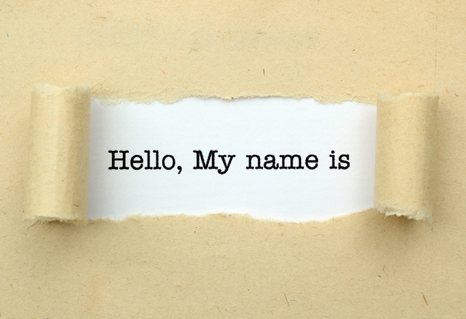 A NAME BY ANY OTHER NAME