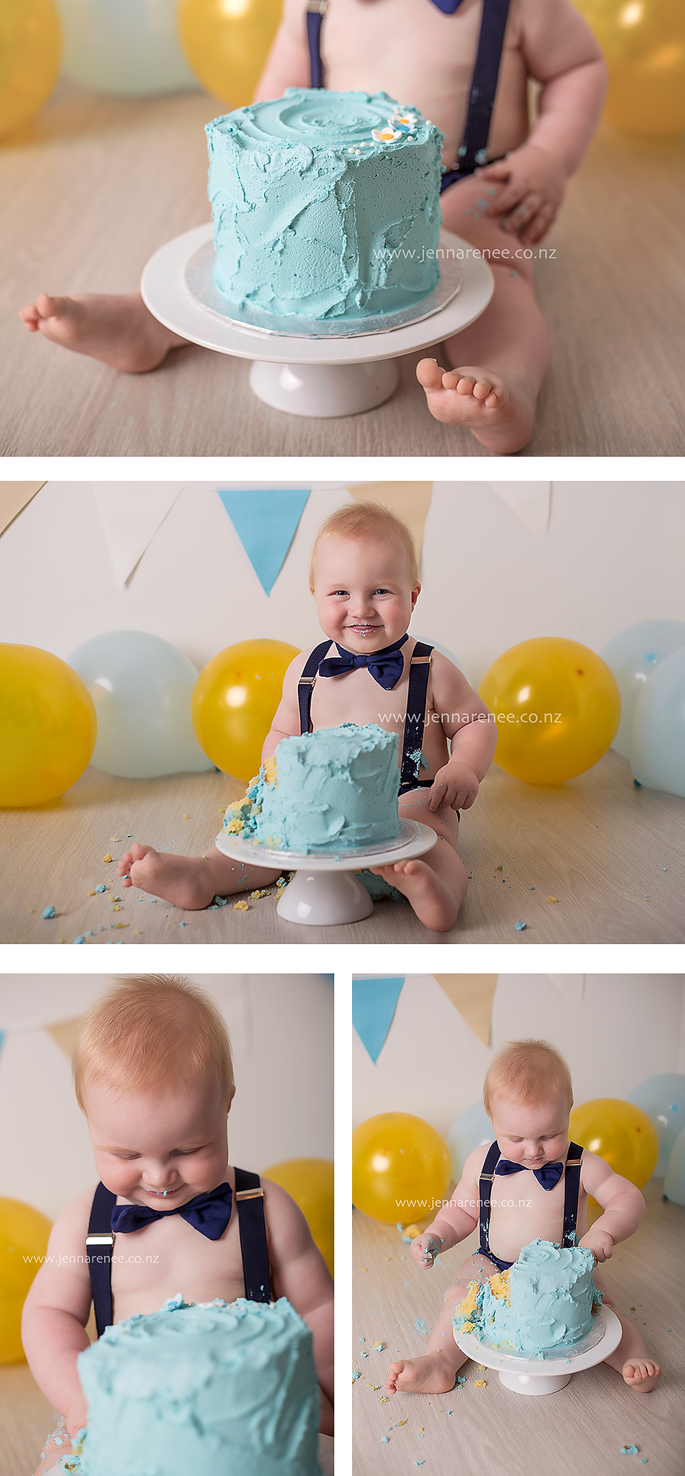Auckland cake smash photography