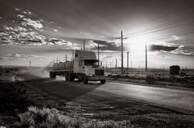 Death highway   Loving   Searchlight New Mexico