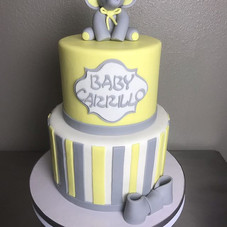 Baby shower cake  #cakedecorating #butte
