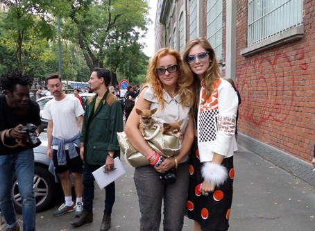 With Chiara Ferragni