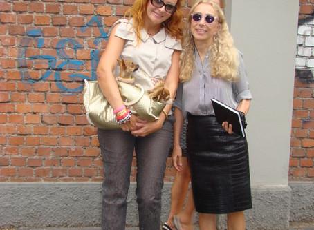 With Franca Sozzani-Vogue Italy