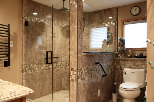 How much does a bathroom remodel cost general - Small bathroom remodel with tub ...