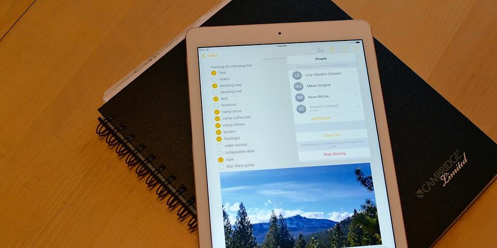 Notes App on iOS 11