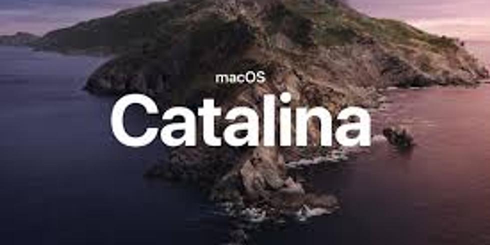 Mac's New OS Catalina!