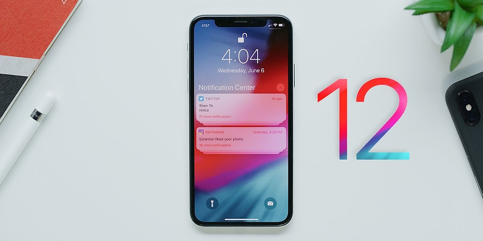 Tips and Tricks on the new iOS 12.