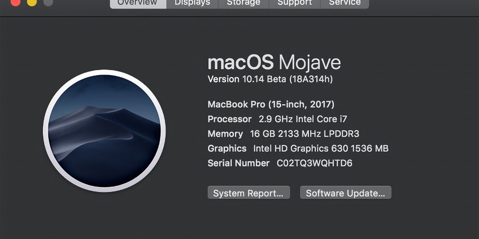 How to update to Mojave.