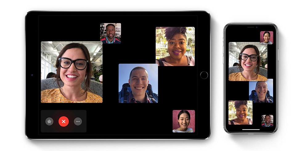 Messaging and FaceTime.