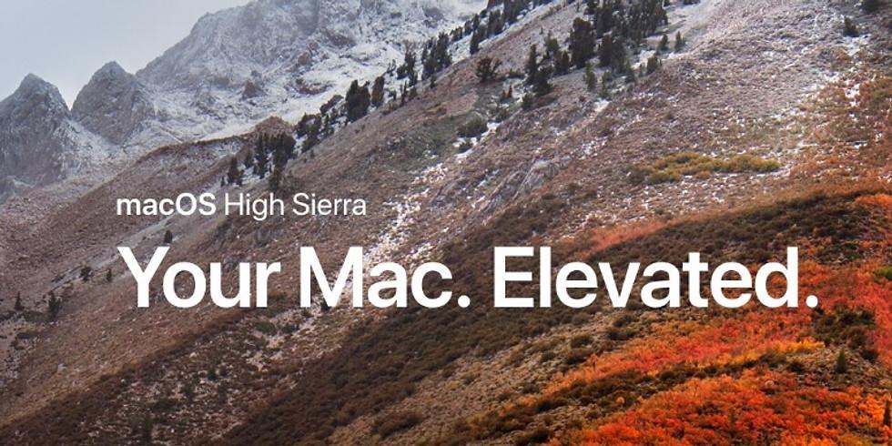 High Sierra the OS