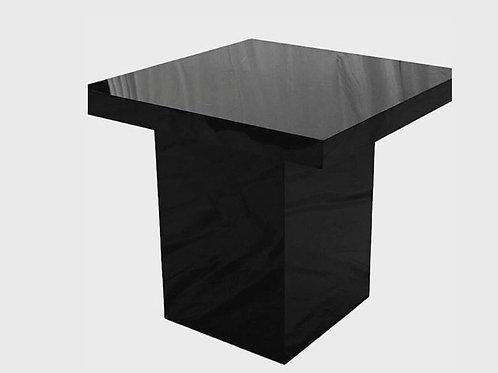 Black cake table