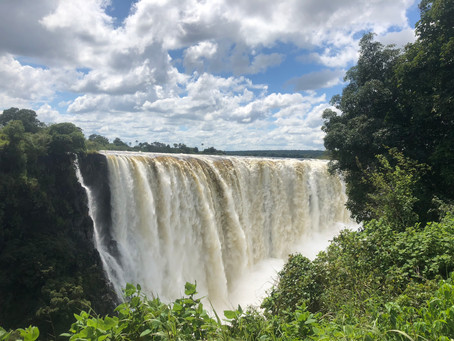 Victoria Falls, With only an iPhone