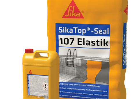 Sika TopSeal 107 Elastik Su Yalıtım Malzemesi
