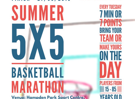 Summer 5x5 Basketball Marathon!