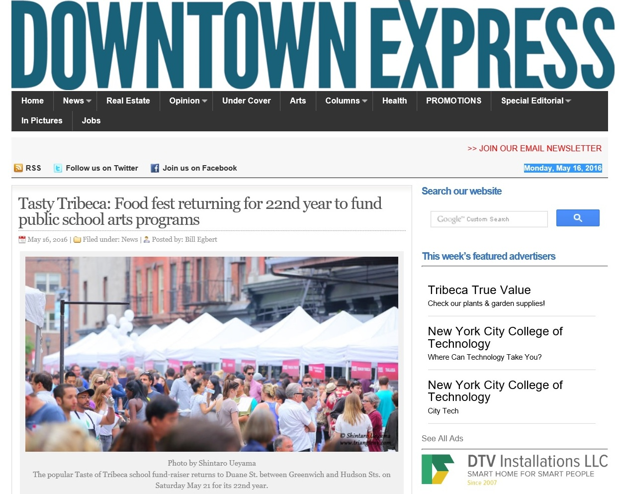 Downtown Express 5/16/2016