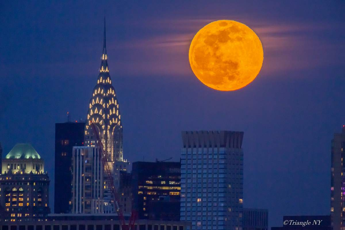 First Super Moon in March 2020