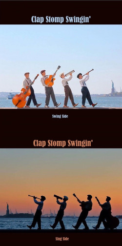Clap Stomp Swingin' Record Jacket