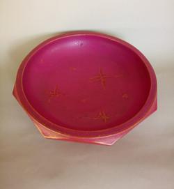 Pink Gold Bowl