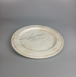 """Marble"" Plate"