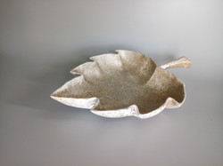 Winter Leaf Bowl