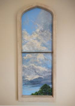 Sky Through a Window #1