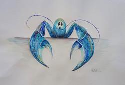 Blue Jittery Lobster