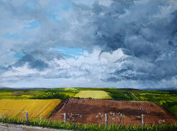 """""""Shadows on a Ploughed Field"""""""