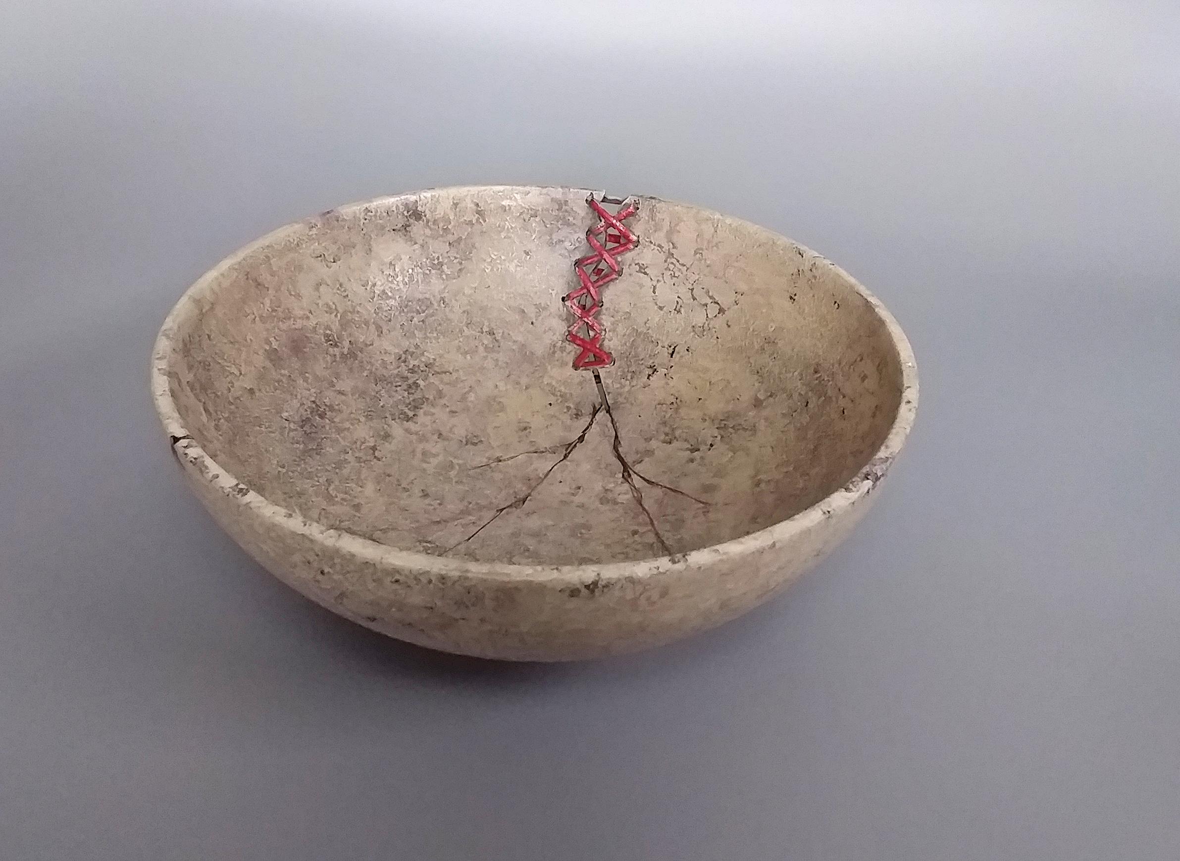 Lace Up Bowl