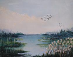 """Flight Across Marshes"""