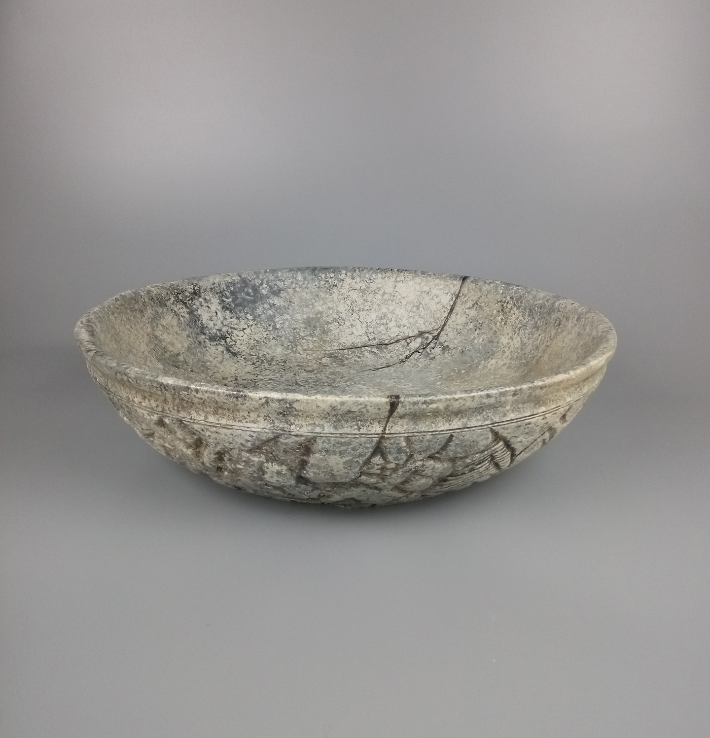 Large Stone Effect Bowl