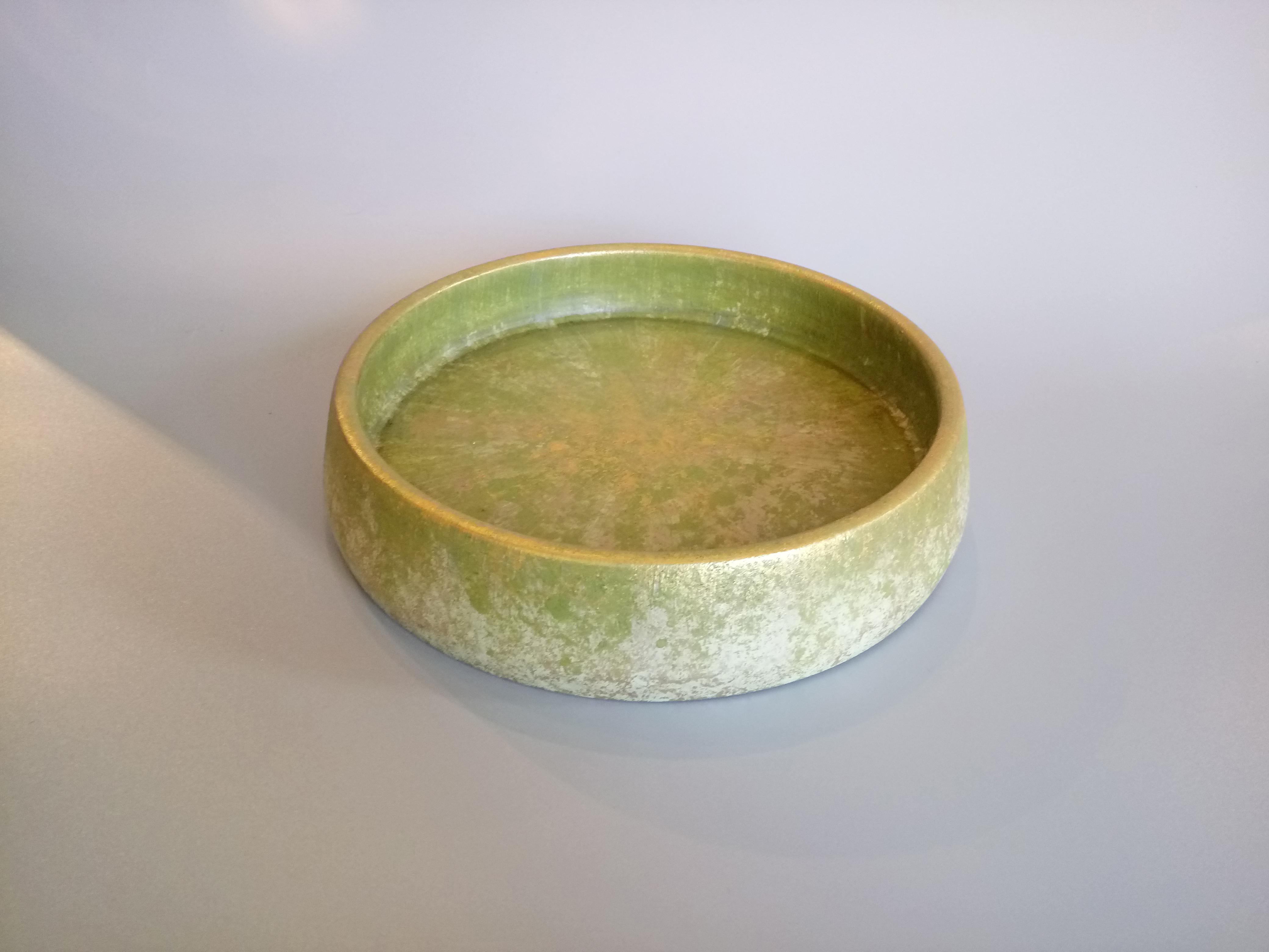 Citrine & Gold Bowl