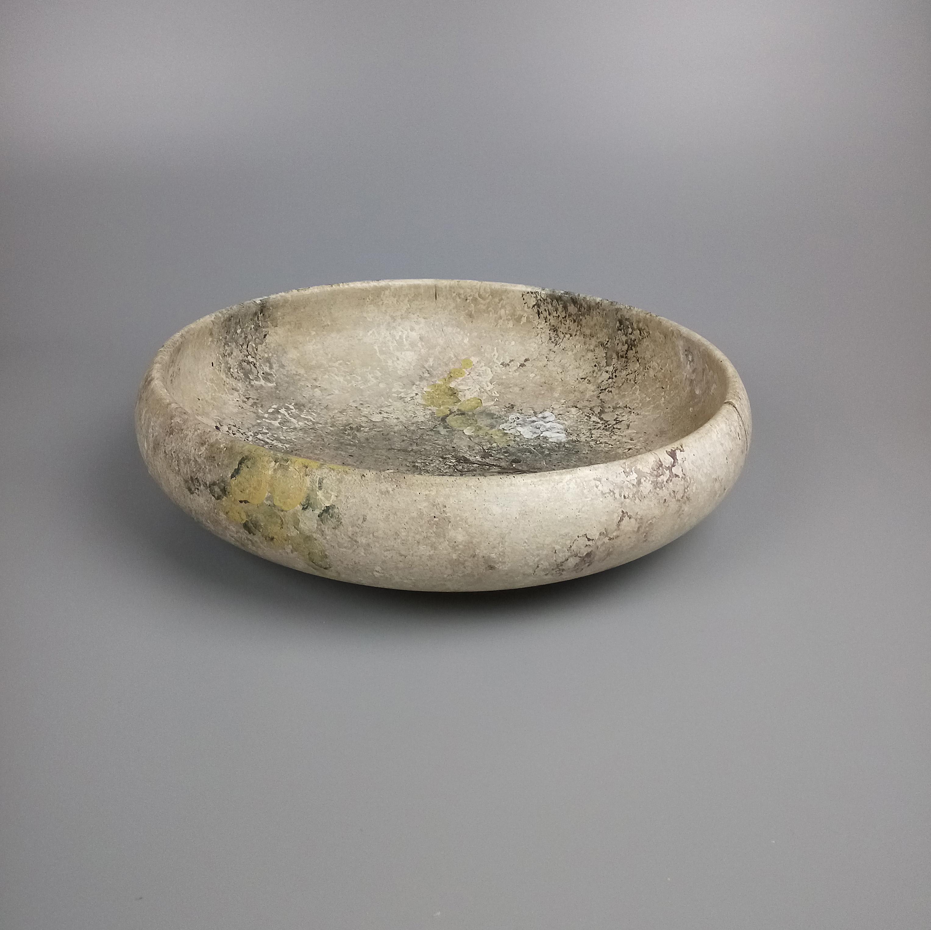 Shallow Stone Effect Bowl